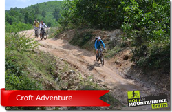 MTB half day tour - Croft adventure