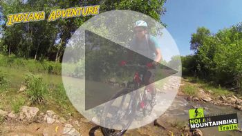 "Watch the video ""Indiana Adventure"" MTB tour of 1 day"