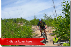 Full day MTB tour - Indiana Tour